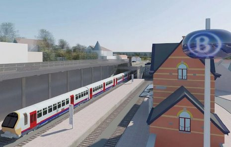 3 Projet RER Genval © Infrabel Euro Liège