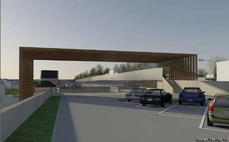 9 Projet RER Genval parking supérieur © Infrabel Euro Liège