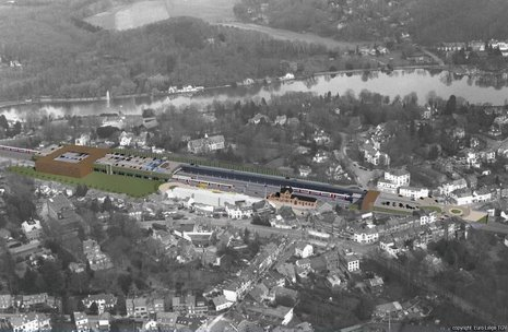 1 Projet RER Genval vue aérienne © Infrabel Euro Liège