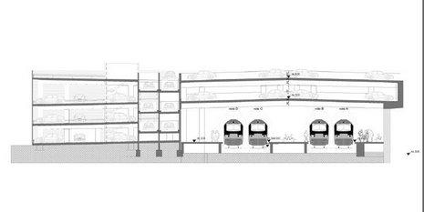 10 Projet RER Genval aménagement parking © Infrabel Euro Liège