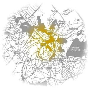 schema de structure communal,densité,densification,village à caractère résidentiel